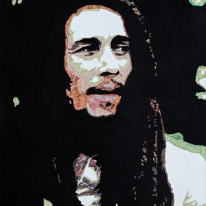 Bob Marley Newspaper art galerie venturini, antibes