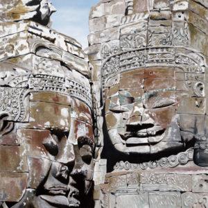 Alzheimer, angkor vat, art bouddhique, Bayon, cambodge, galerie venturini, JJV, khmers, patrimoine mondial de l'UNESCO