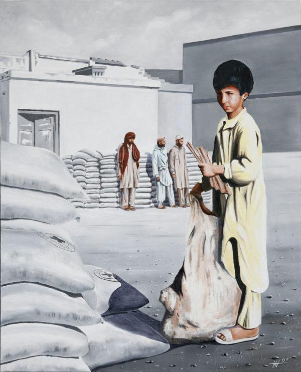 enfants, galerie venturini, JJV, pakistan, Peshawar