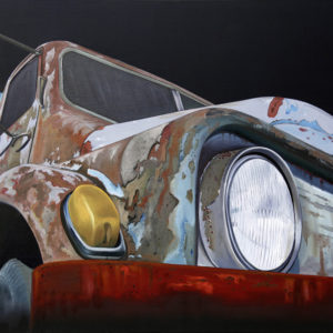 calendre, capot, chromes, clignotant, galerie venturini, Old cars, phares, rétroviseurs, rouille