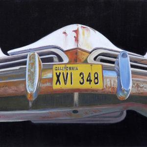 calendre, capot, chromes, galerie venturini, Old cars, phares, rétroviseurs, rouille