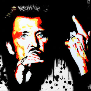 chanteur francophone, galerie venturini, Johnny halliday, people, rock
