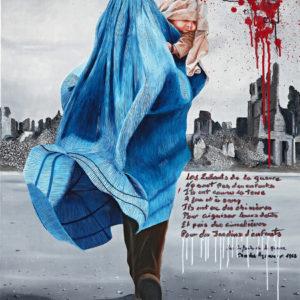 chanson, charles aznavour, galerie venturini, JJV, les enfants de la guerre