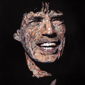 galerie venturini, JJV, lune, Mick Jagger, rock, rolling ston