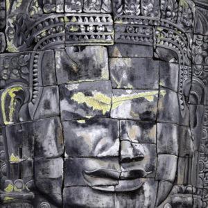 angkor vat, art bouddhique, Bayon, cambodge, galerie venturini, JJV, khmers, patrimoine mondial de l'UNESCO, Sommeil paradoxal