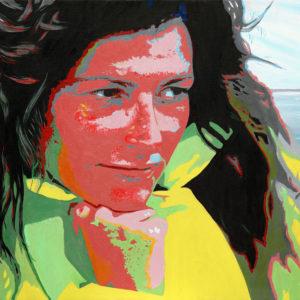 Femme, florence artaud, galerie venturini, JJV, mer, navigatrice