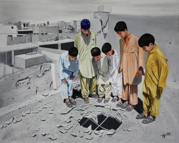 Al-Qaïda, bombardements, galerie venturini, insurgés islamistes, JJV, pakistan, Peshawar, zones tribales