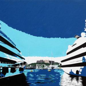 antibes, fort vauban, galerie venturini, JJV, Juan les pins, port vauban, quai des milliardaires, yacht