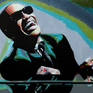 antibes, couple, galerie venturini, JJV, Juan les pins, piano, Pop Art, ray charles, Résine