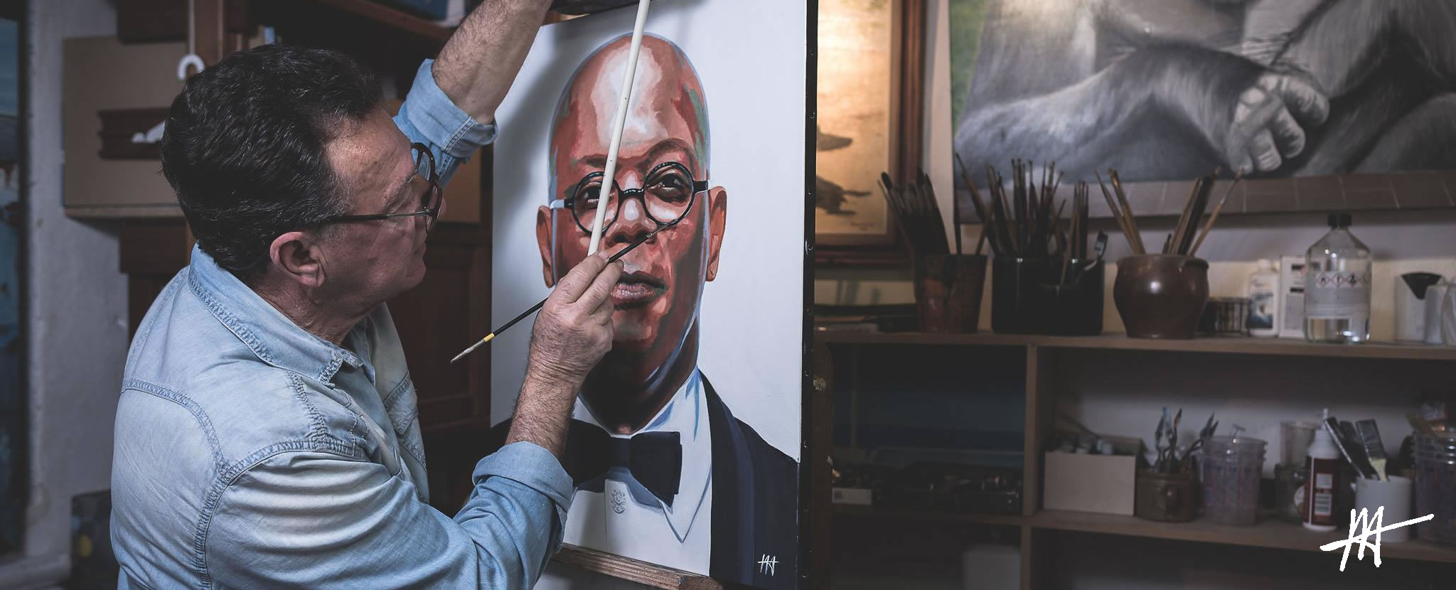 Jean-Jacques Venturini, artiste peintre. peinture à l'huile, recycle art, peinture contemporaine